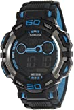 Sonata Ocean Series II Digital Black Dial Men's Watch - 77009PP02J