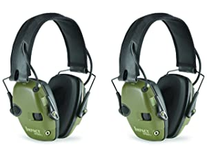 2. Two-Pack Howard Leight Impact Sport Electronic Earmuff Set