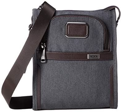 7c0ceda7eee2 Amazon.com  Tumi Men s Alpha Small Pocket Bag