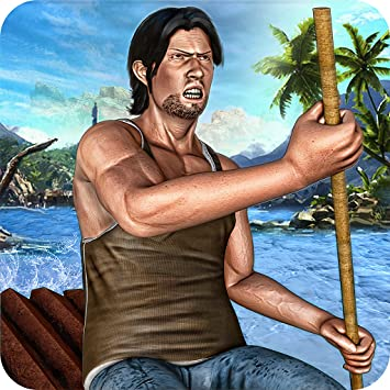 Raft Survival Hardtime Island Escape Life Simulator 3D: Hero Fighting  Evolution Adventure Craft Games Free For kids