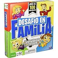 SpinMaster Juego de Mesa Reto En Familia