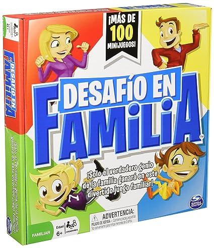 Spinmaster Juego De Mesa Reto En Familia Amazon Com Mx Juegos Y