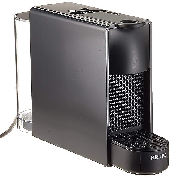 Krups Nespresso XN1108 Essenza Mini Kaffeekapselmaschine (1260 Watt, Thermoblock-Heizsystem, 0,7 Liter, 19 bar) schwarz