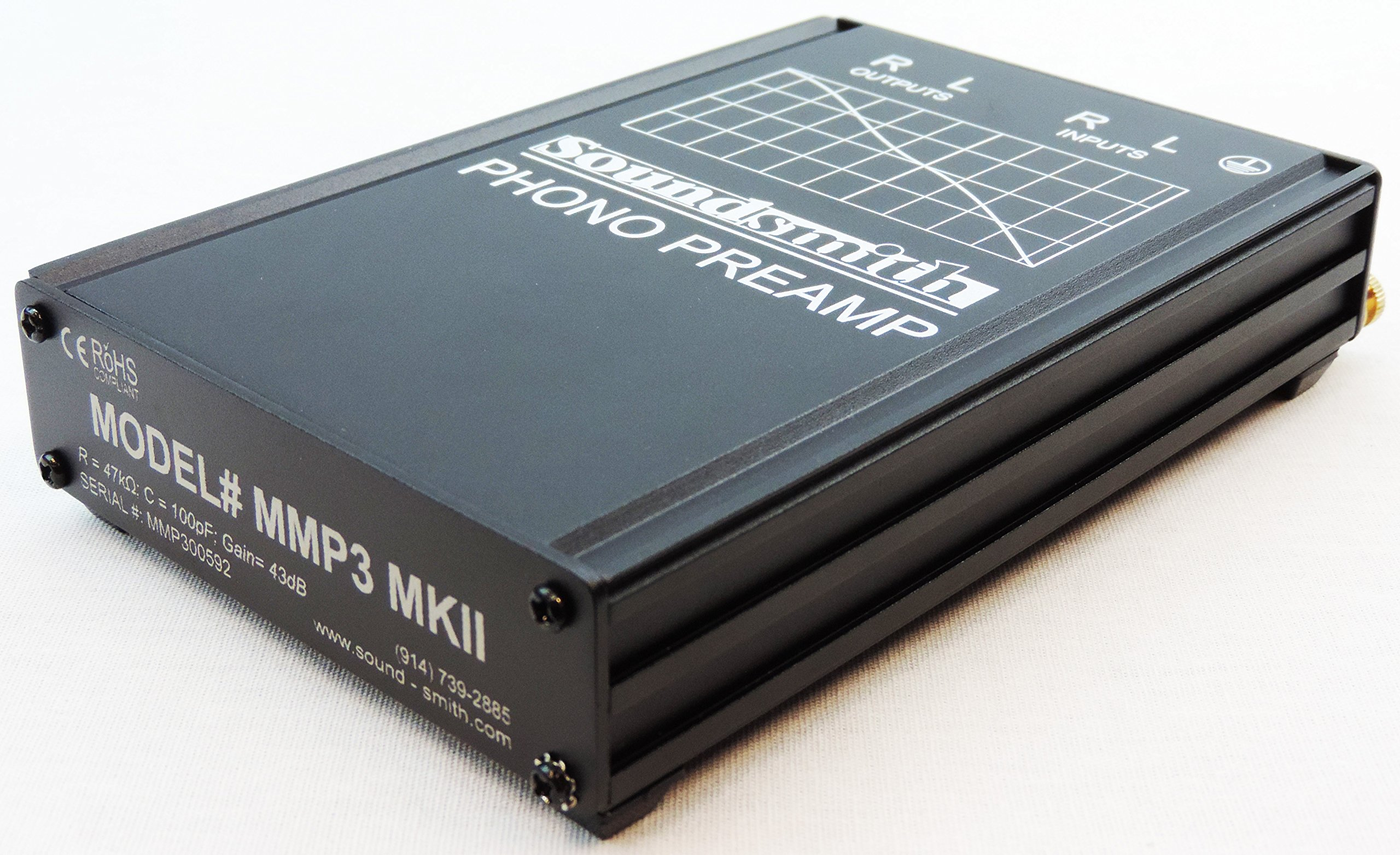 Soundsmith MMP3 MKII High-End Low-Noise MM Phono Preamp and External Power Supply