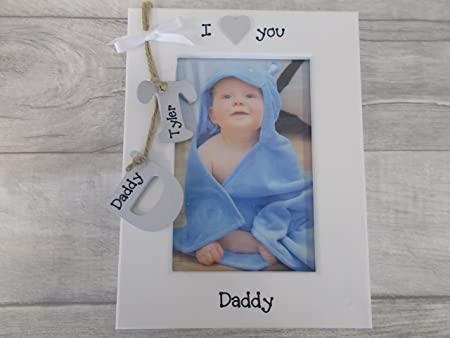 Personalised I Love You Daddy Photo Frame Keepsake Prompt Dispatch