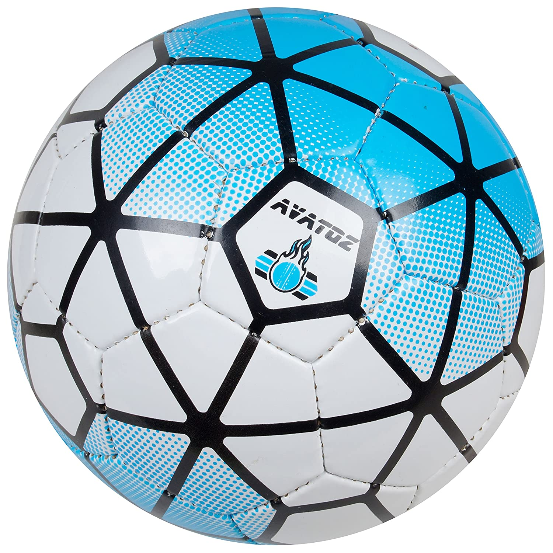 Avatoz Pitch Replica Football - Size: 5, Diameter: 26 cm(Pack...