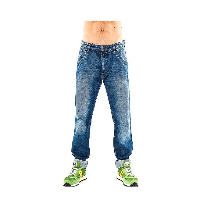Datch Pantaloni Jeans Uomo Cinque Tasche  Amazon.it  Abbigliamento 8e7eb8a5863