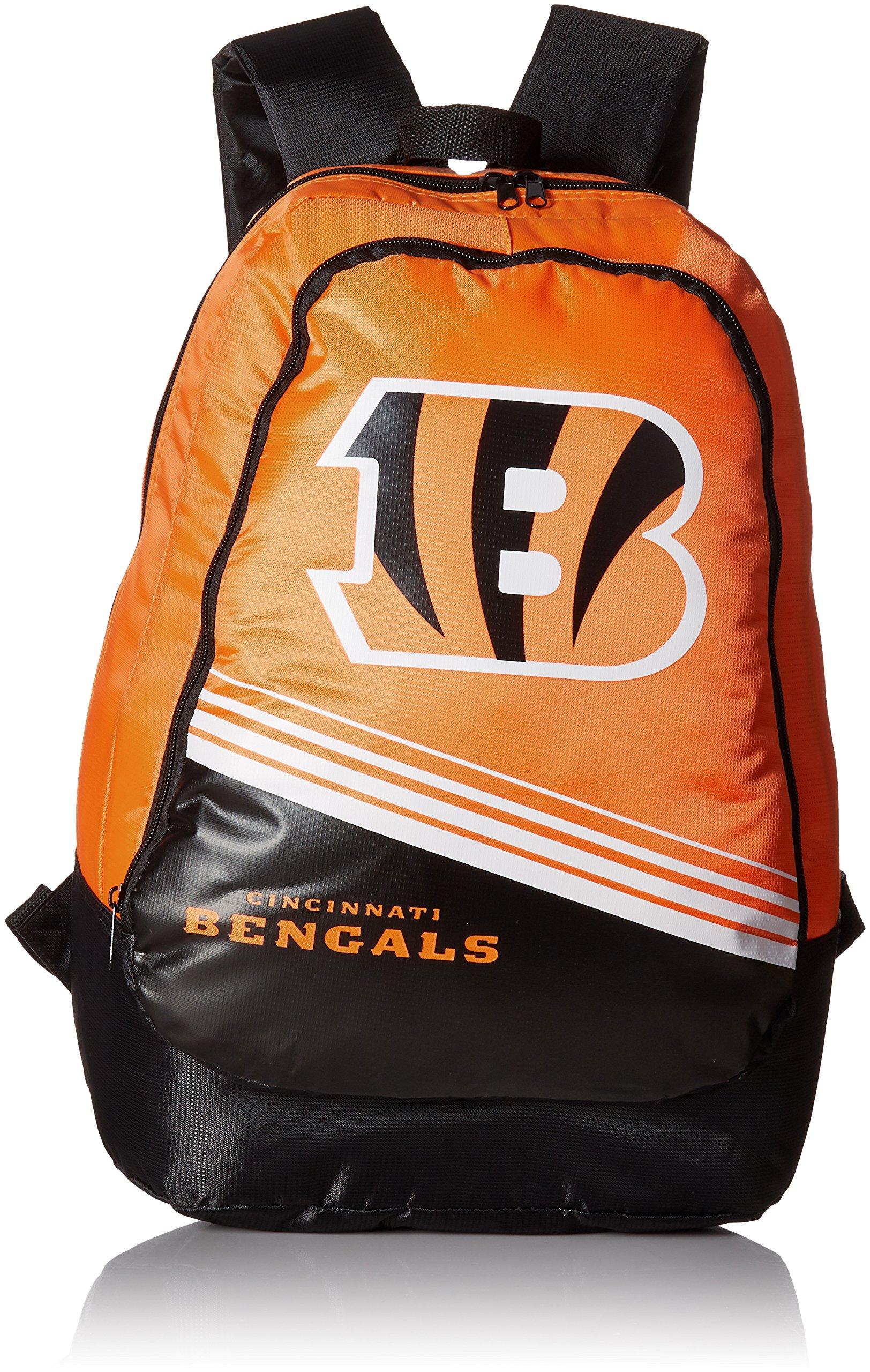 FOCO Cincinnati Bengals 2015 Stripe Core Backpack