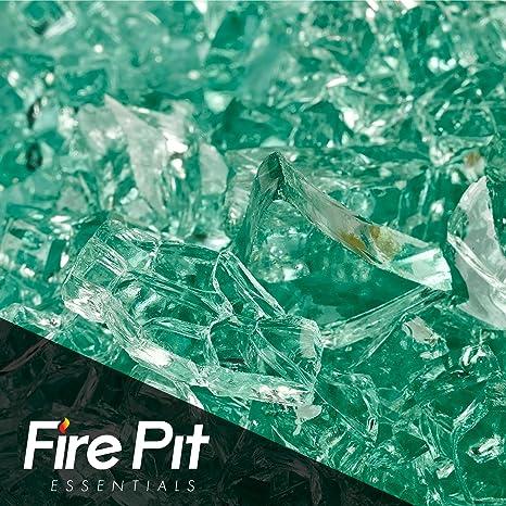"""Evergreen fuego cristal 1/4 """"estufa de cristal Premium 10 Libra gran para"""