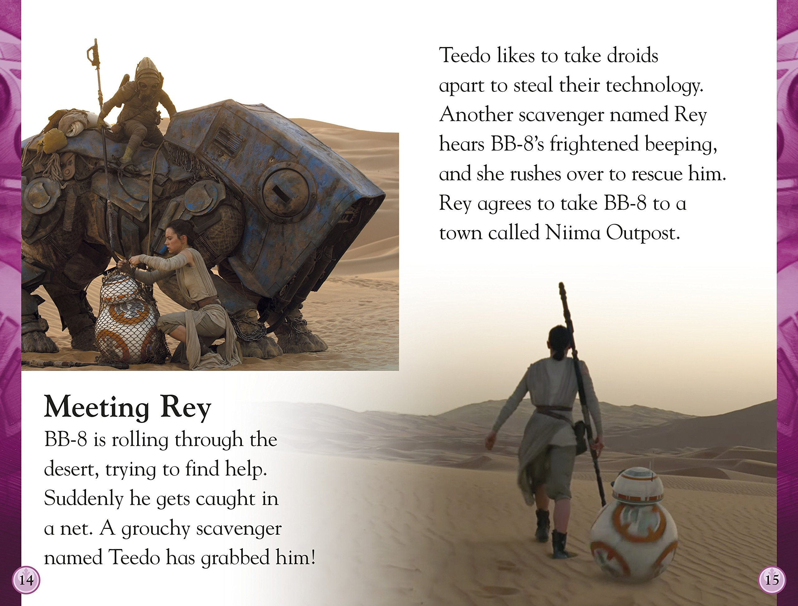 Image result for dk star wars leveled readers rey to the rescue inside