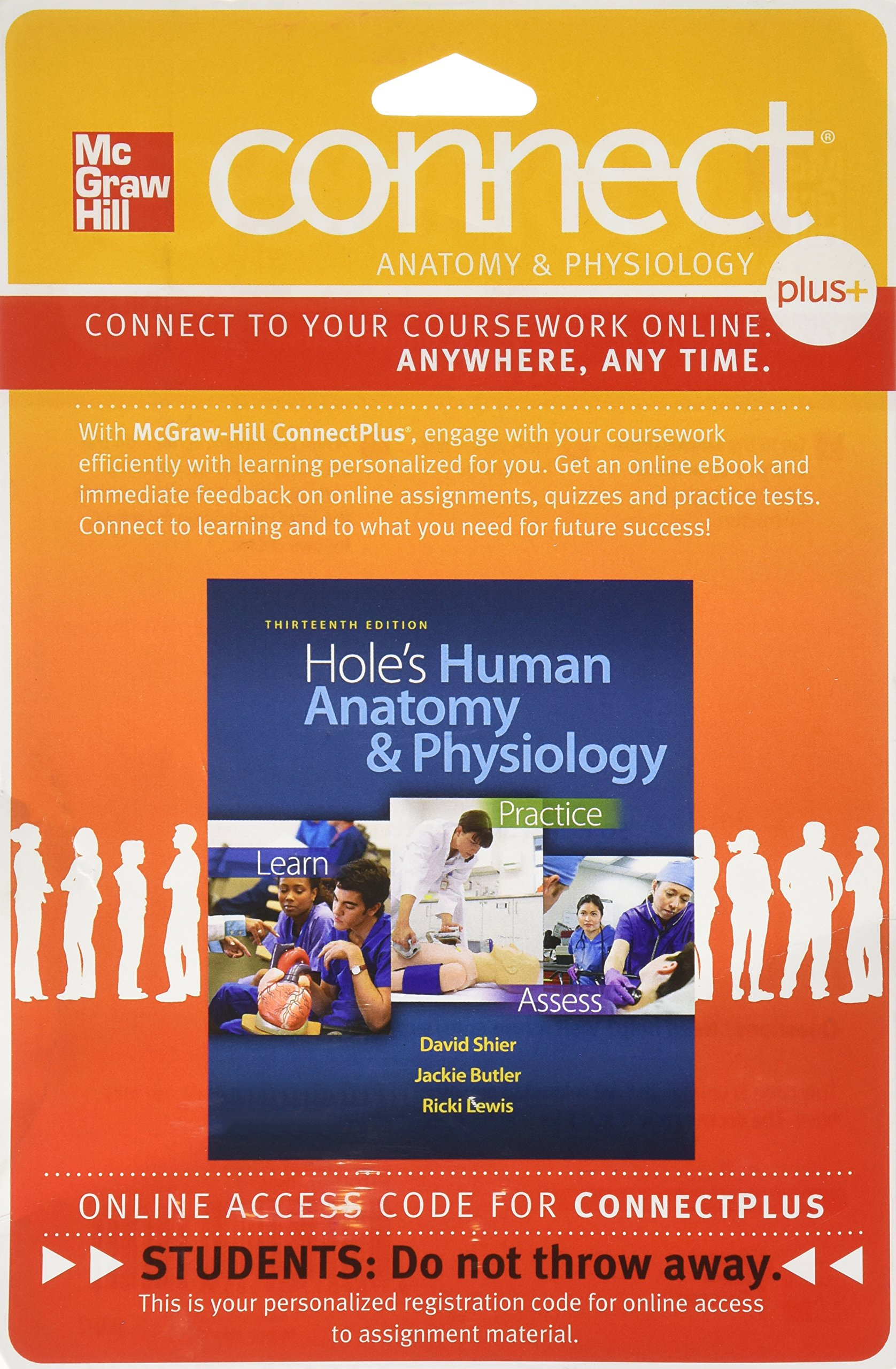 Connect 2-Semester Access Card for Hole\'s Human Anatomy and ...