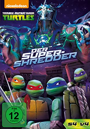 Teenage Mutant Ninja Turtles - Super Shredder Alemania DVD ...