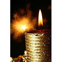Duvar Tasarım DLC 1062 Candle Led Canvas Tablo, 70x50 cm