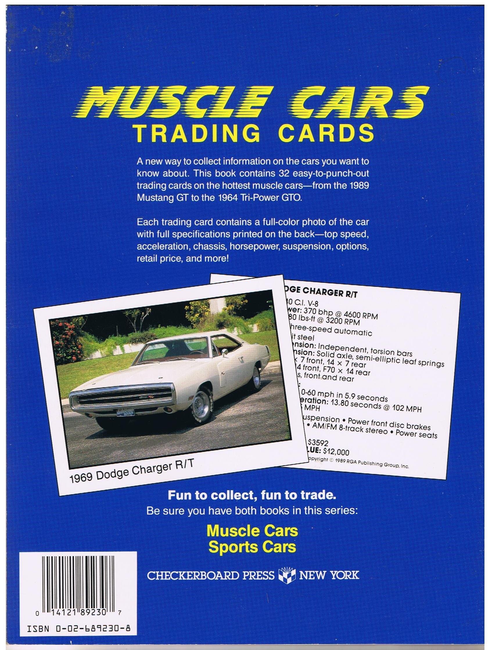 Muscle Cars Trading Cards: Alain Chirinian: Amazon.com: Books
