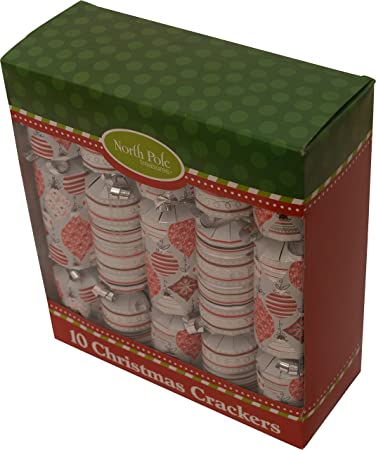 holiday party crackers pack of 10 9 festive crackers
