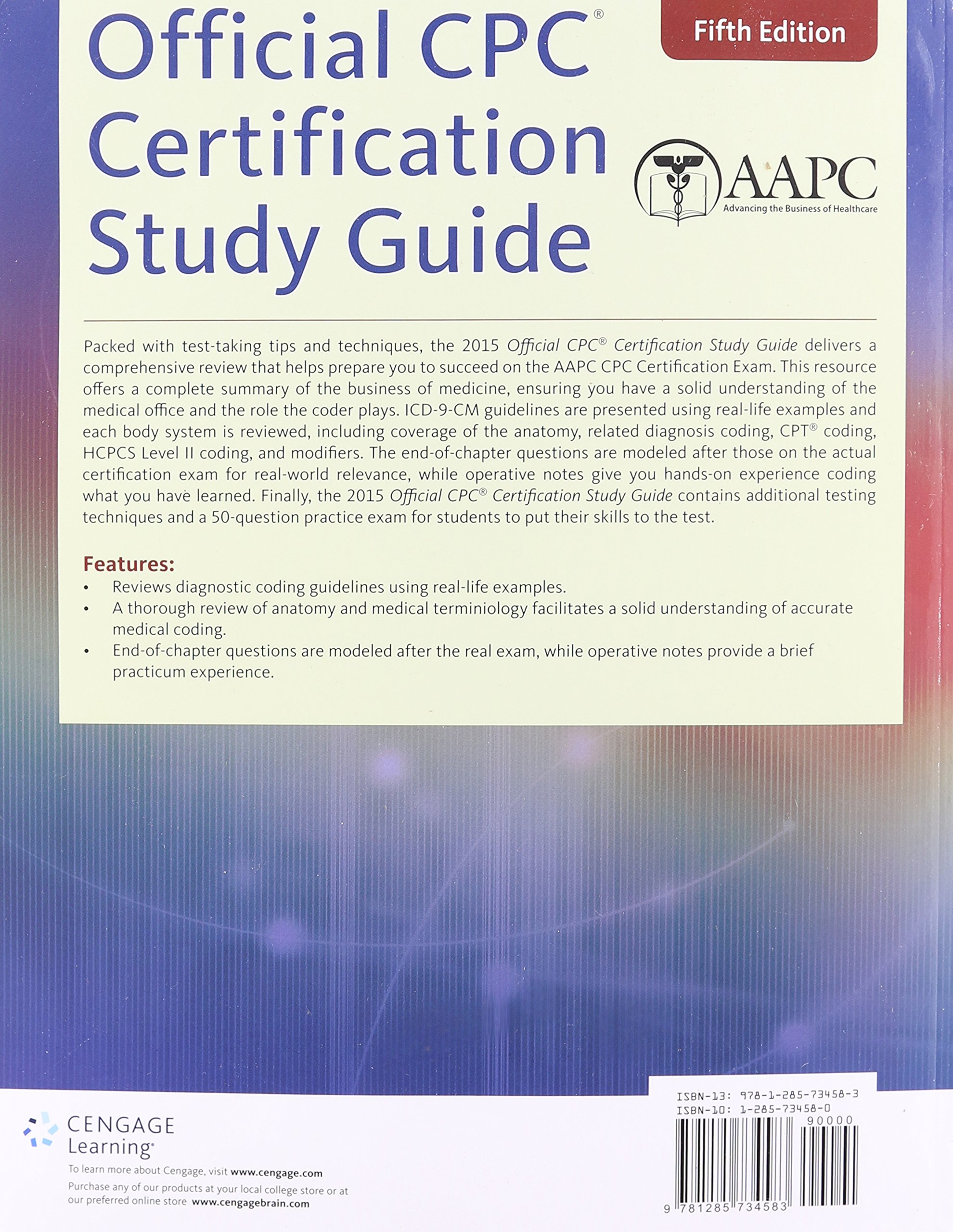 Buy Official Cpc Certification Study Guide Book Online At Low Prices