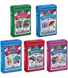 Super Duper Publications   Ask and Answer WH Question Five Fun Decks Combo   Communication and Language Processing Skills Flash Cards   Educational Learning Materials for Children