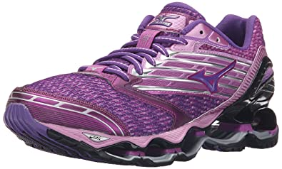 wholesale dealer 4222c feeb0 Mizuno Women s Wave Prophecy 5 Running Shoe, Hyacinth Violet Royal Purple,  ...