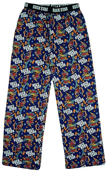 Muppets - Pantalón de Pijama - para Hombre Azul Azul XXL