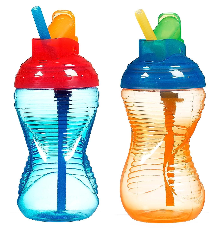驚きの値段で Munchkin Mighty Grip Flip Straw Cup - Pack - Mighty 10 ounce - 2 Pack Blue/Green B001QXCF0S, ギノワンシ:8f9e6f5e --- a0267596.xsph.ru