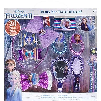 Frozen Glitter Hair Clips //12