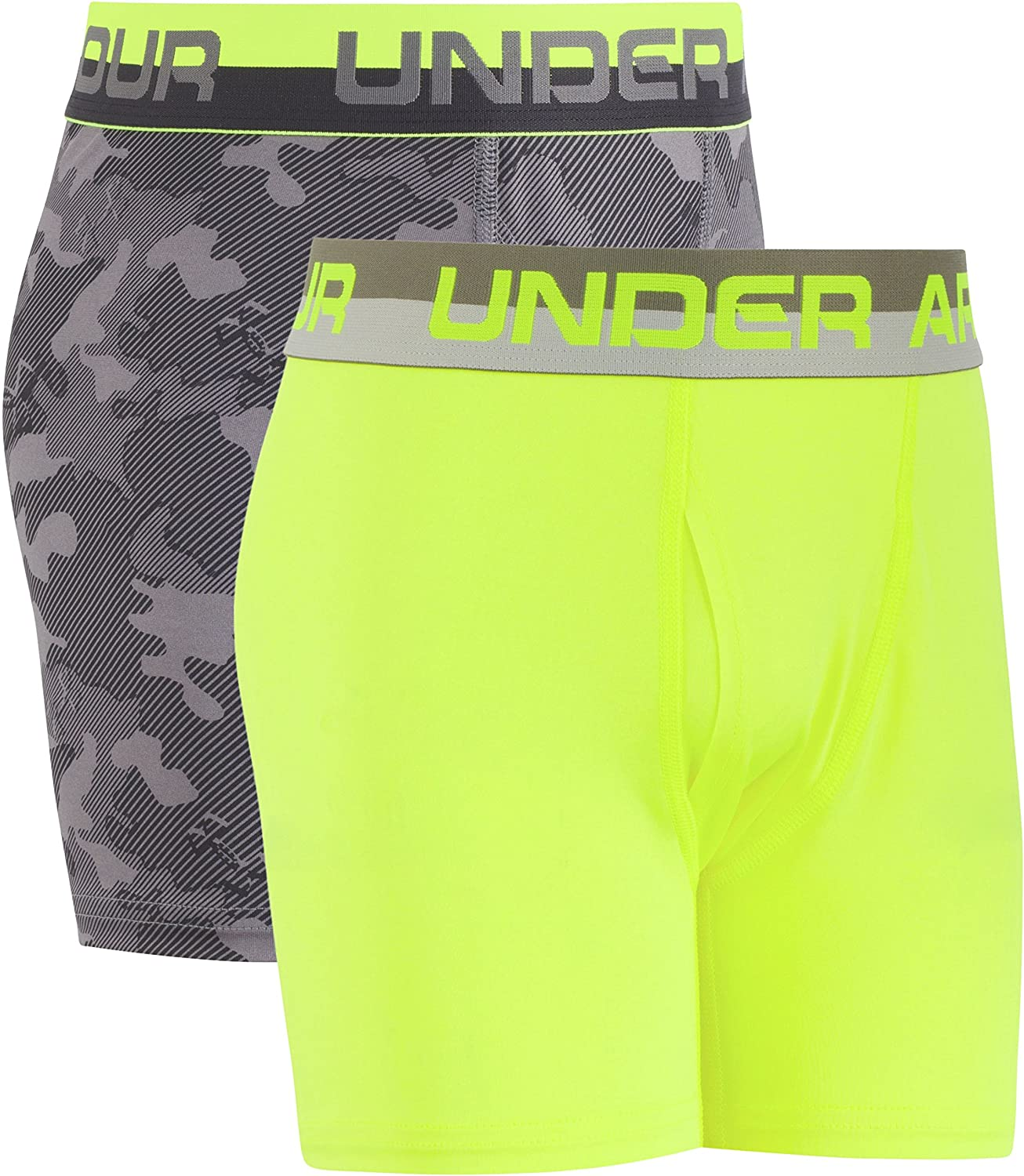 Under Armour Boys' Performance Boxer Briefs