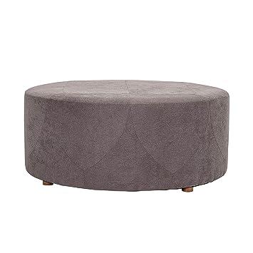 Peachy Amazon Com Bloomingville A82042681 Ottoman Large Grey Bralicious Painted Fabric Chair Ideas Braliciousco