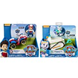 Paw Patrol Everest's Rescue Snowmobile Ryder's Rescue ATV, Vechicle and Figure. Includes Blizy Pen