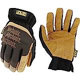 Mechanix Wear - Leather FastFit Gloves (Medium, Brown/Black)