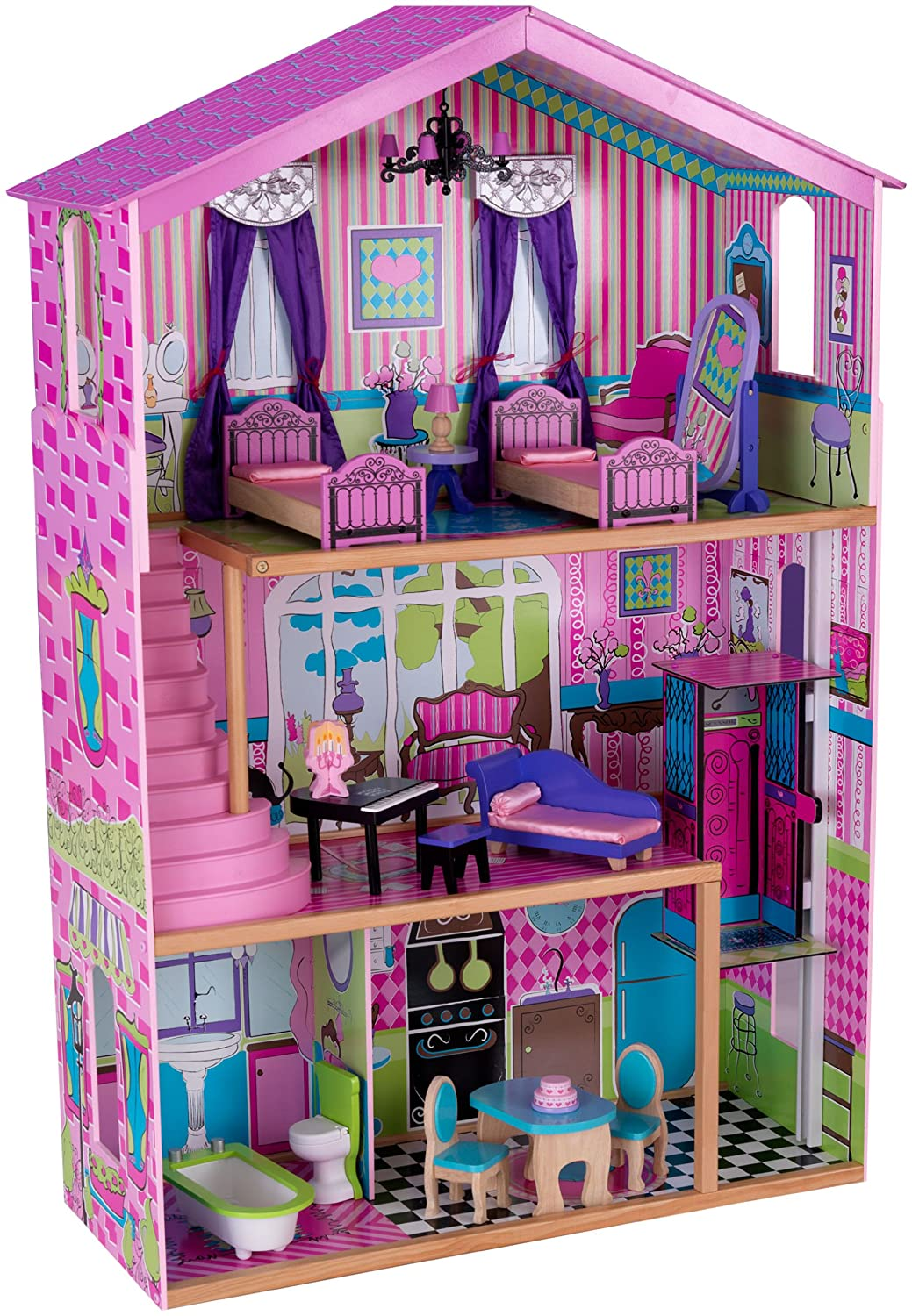 10 awesome barbie doll house models -