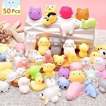 Pachock 50 Piezas Squishy Kawaii Squishies Juguete Animales ...