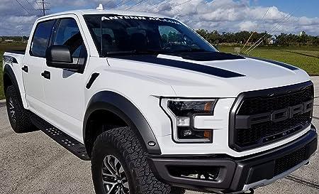 For Ford F-150 Raptor 13inch Flexible Black Radio Rubber Antenna Mast 10-2018