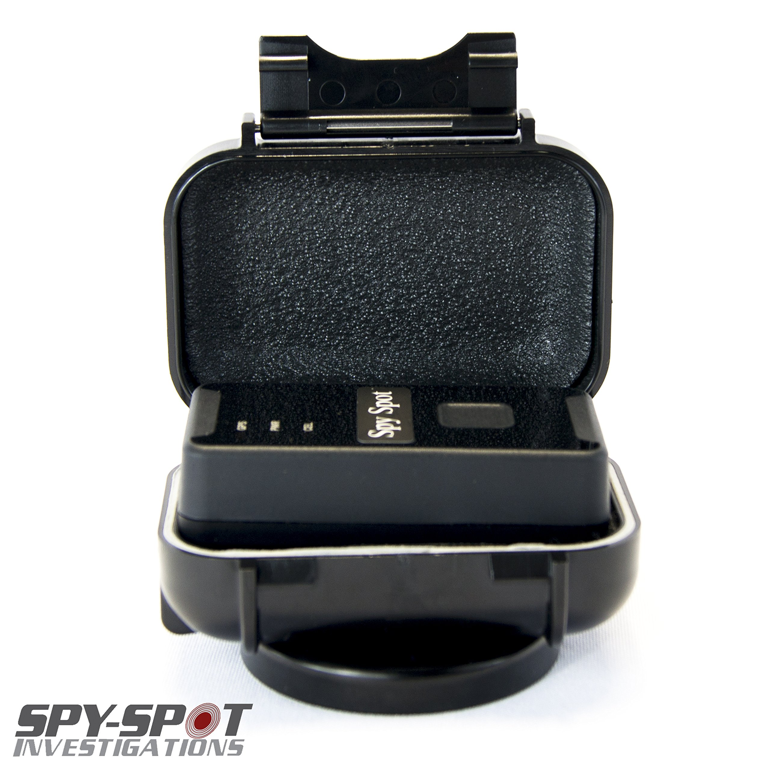 Real Time Live Mini Micro 3G GL300W Spy Spot GPS Tracker in Black - GPS Tracking Device + GL-HM Weatherproof Magnetic Case + Worldwide Coverage