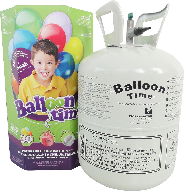 Worthington Estándar Helium Balloon Party Kit de accesorios
