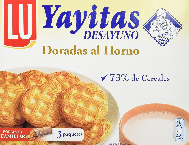 Lu Galletas Doradas al Horno - 600 g: Amazon.es: Alimentación ...