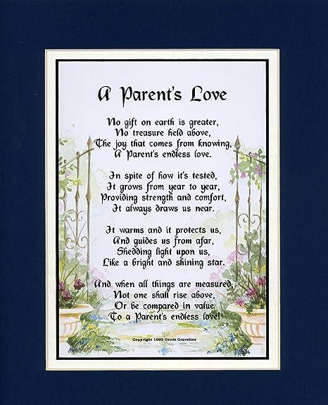 Amazon.com: Un regalo presente Poema para un padre. # 137 ...