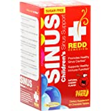 Redd Remedies - Children's Sinus Support, Natural Bronchial and Immune Support, 60 chewable tablets