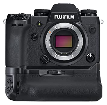 Fujifilm X Series X-H1 Mirrorless Digital Camera w/Vertical Power Booster Grip Kit (Black) Digital SLR Cameras at amazon