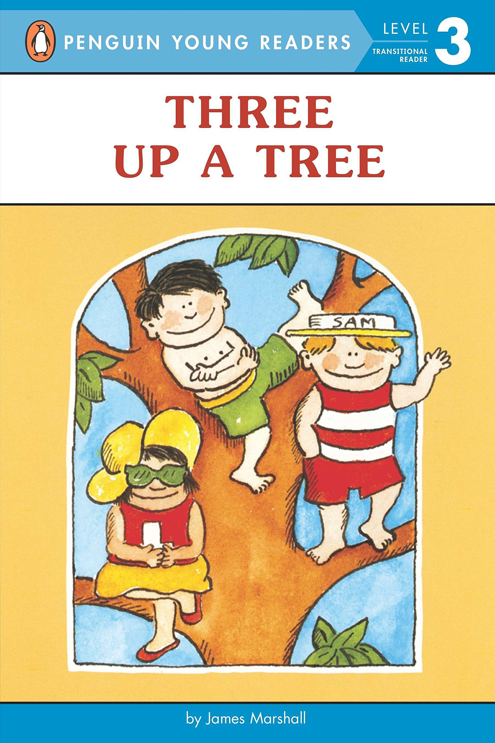 Amazon.com: Three up a Tree (Penguin Young Readers, Level 3)  (9780140370034): James Marshall: Books