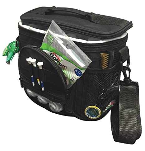 94c0537b5e Amazon.com   PrideSports Cooler Bag - Holds 10 Cans   Golf Bag Accessories    Sports   Outdoors