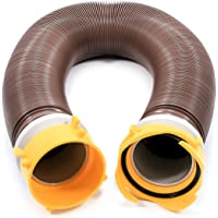 Camco 39639 Revolution 10' Sewer Hose Extension - Heavy Duty Design with Pre- Attached Swivel Lug and Bayonet Fittings…
