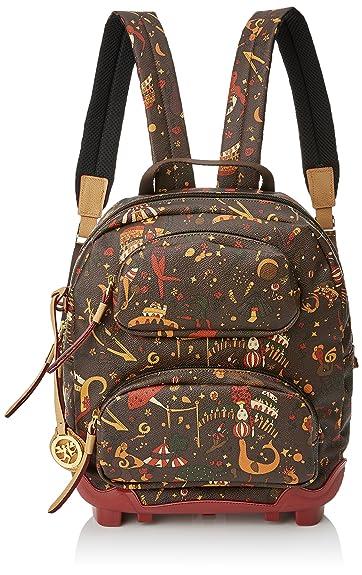 8b8459c143 piero guidi Women's 215484052 Backpack Brown Brown (Testa Di Moro 02 ...