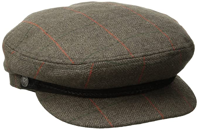ec77f9f43282b Amazon.com  Brixton Men s Fiddler Cap  Clothing