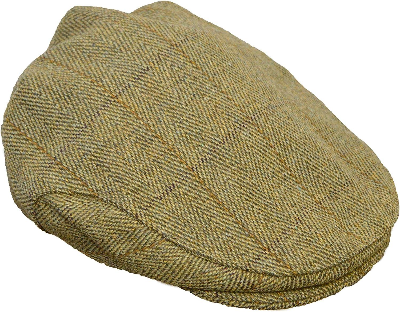 Walker and Hawkes Boina Unisex de Tweed Gorra de Estilo campi/ña Inglesa Ideal para la h/ípica y la Caza