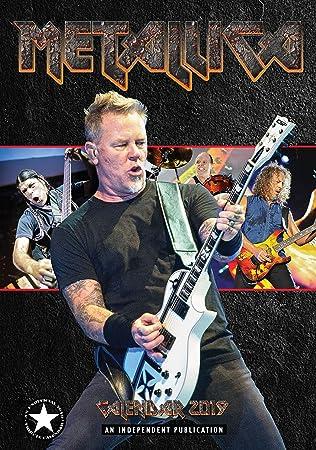 Metallica 2019 Large A3 Poster Size Wall Calendar - Brand