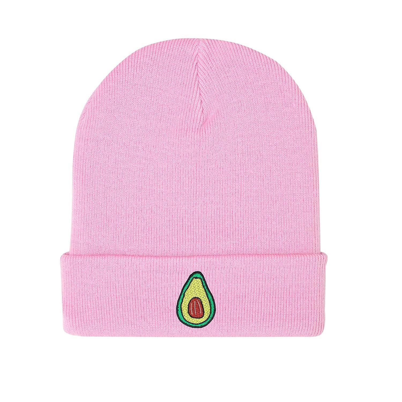 Minga London Avocado Beanie Hat Cap Tumblr Grunge Fashion Women Vegan Fruit