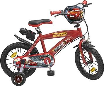 Toim- Cars 3 Bicicleta con Pedales (744): Amazon.es: Juguetes y juegos