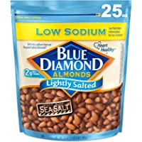 Blue Diamond Almonds Low Sodium Lightly Salted (25-Ounce)