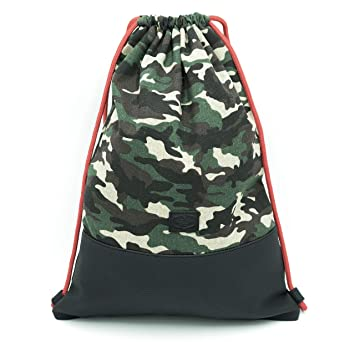 e915901fa8f10 Traveller´s Garden Turnbeutel Hipster Army Camouflage