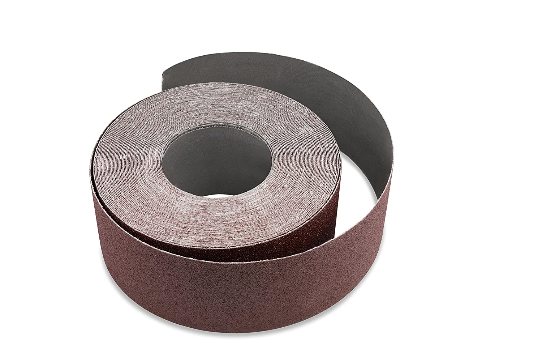 2 inch X 60 FT 80 Grit Woodworking Drum Sander Roll Fintech Abrasives